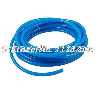 Bleu 10 M 32.8Ft 10mm 25/64 OD 6.5mm 1/4 ID pneumatique PU Tube tuyauBleu 10 M 32.8Ft 10mm 25/64 OD 6.5mm 1/4 ID pneumatique PU Tube tuyau