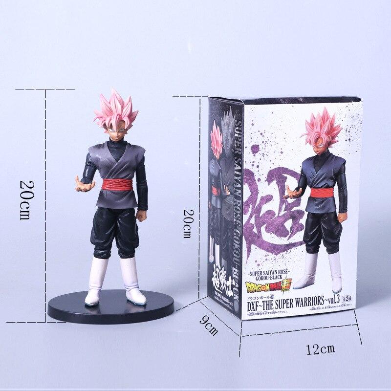 Toys Model-Doll Action-Figure Dragon-Ball-Z Pink Black Soul-X-Soul Son-Goku Super-Saiyan
