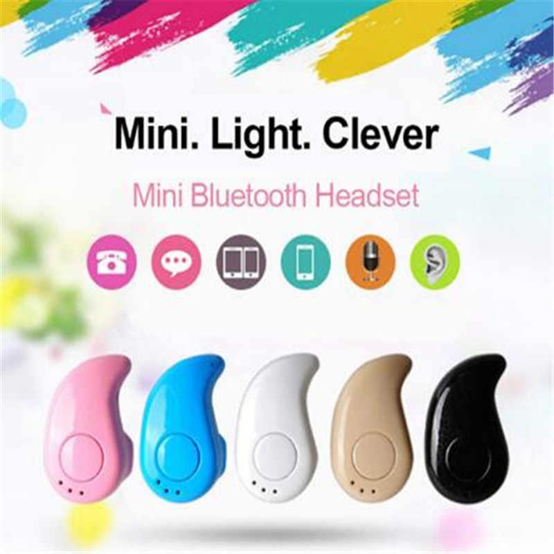S530 ミニ Bluetooth ワイヤレスイヤホンで耳スポーツヘッドセットイヤホンとマイクハンズフリー Xiaomi Iphone サムスン PK I7s i9s i11