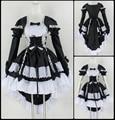 Cosplay Princess Skirt Black Dress COS Dress Angel Love Maid Clothes Free Shipping