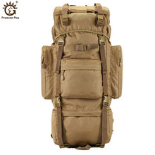 New Military Tactical Backpack 70L large Capacity Camping Bags Outdoor Sports Bag Mens Hiking Rucksack Travel