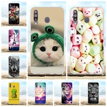 For Samsung Galaxy M30 Case Soft Silicone SM-M305F Cover Candy Patterned A40s Funda