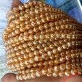 Граненые круглые бусины 4 6 8 10 12 мм с золотым и шампанским прозрачным металлическим титановым покрытием из натурального кварца, гладкие круг...