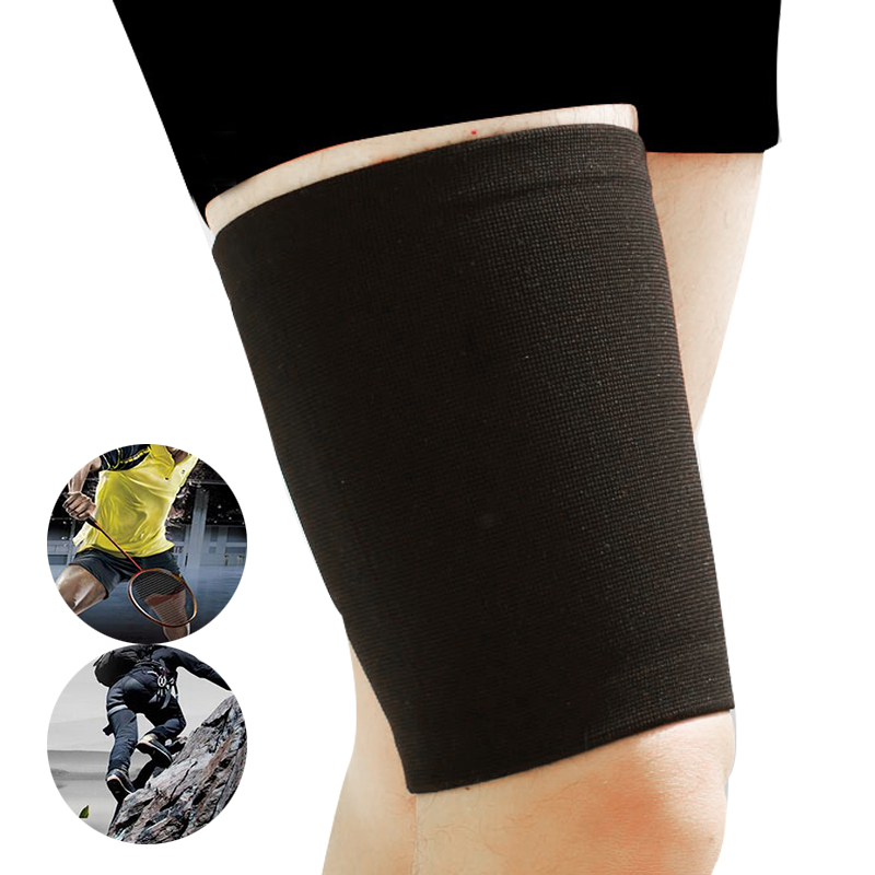 New Arrival Leg Sleeve Support Brace Knee Pads Kneepad Basketball Sport Compression Calf Stretch Brace Thigh Skin Protector Safe