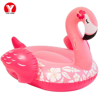 Inflatable Flamingo Pool Float Giant Flamingo Swimming Float Pool Summer Water Beach Fun Swim Toys For Adults