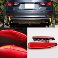 1 Pair Left And Right Car Styling For Mazda 6 Atenza 2013 2014 2015 2016 Red