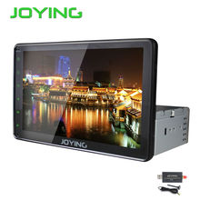 Joying Universal Android Car Car Multimedia Player 10.1″ Big Screen Single1 Din  Quad Core GPS Navigation System Head Unit+DAB+