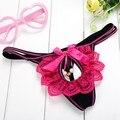 Mulheres Sexy Lingerie Calcinhas Tangas Florais Beading G-string Rendas Malha Oco Out Bordados Underwear 18