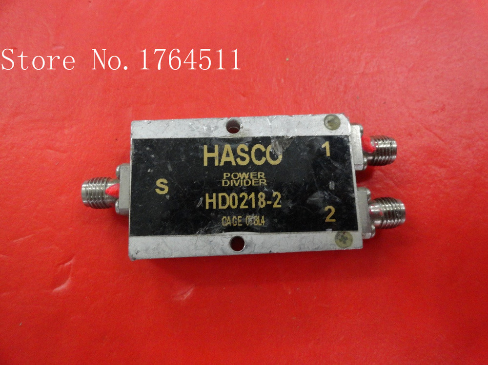 [BELLA] HASCO HD0218-2 2-18GHz RF Coaxial Power Divider SMA A Two