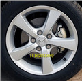 Mazda m3 MAZDA 3 reacionará rodas de ferro aro de arame