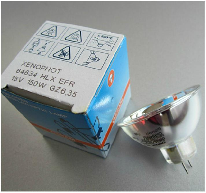 For Osram 64634 Xenophot HLX ERF 15V 150W GZ6 35 A1/232 Dichroic 51mm Lamp Lampa Free Shipping Free Tracking