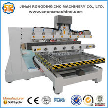 Table moving type cylinder engraving machine cnc router