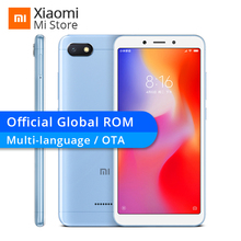 "Global ROM Xiaomi Redmi 6A 2GB 16GB 6 A Helio A22 CPU Mobile Phone 13.0MP Rear Camera 3000mAh 5.45"" 18:9 Full Screen 1440*720(China)"