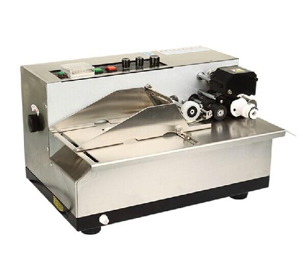 Machine de codage de rouleau d'encre solide de haute qualité pour le sac en plastique, carte de papier