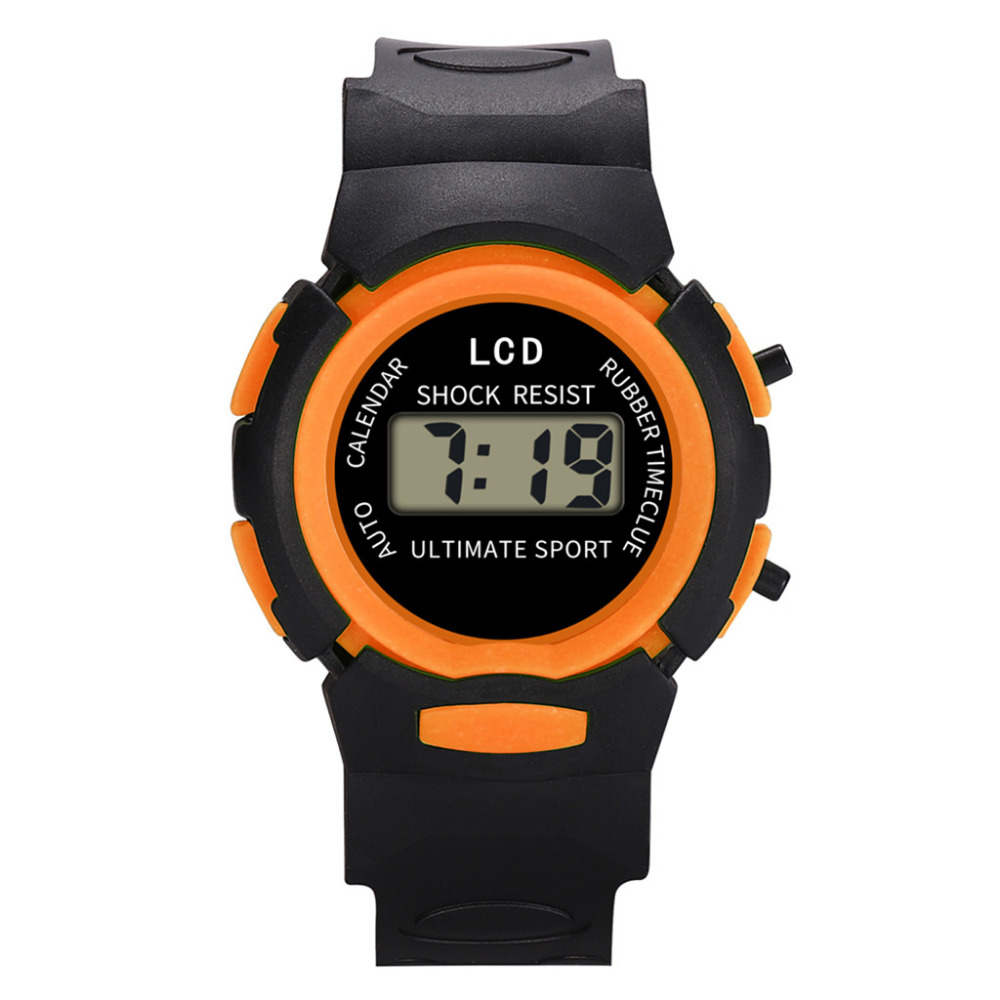 Watches Children Digital Sports Waterproof Kids Outdoor LED for Multifunctional Brand-New