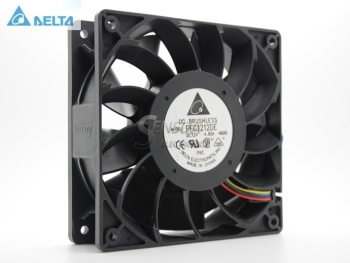 Free Shipping Delta PFC1212DE 120*120*38 mm 12038 1238 12CM DC 12V 4.80A server inverter cooling fan grille