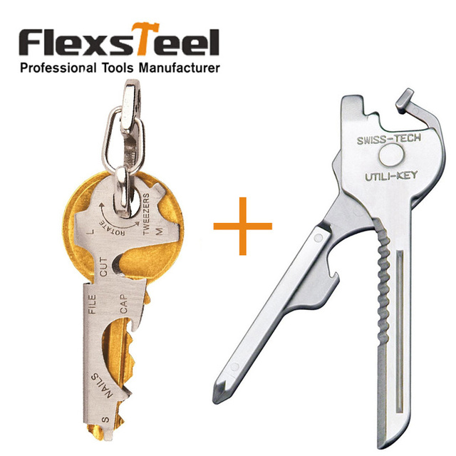 swiss tech utility key  Swiss+Tech 6 in 1 Pocket Utility Key Tool Set+True Utility TU47 9 in ...