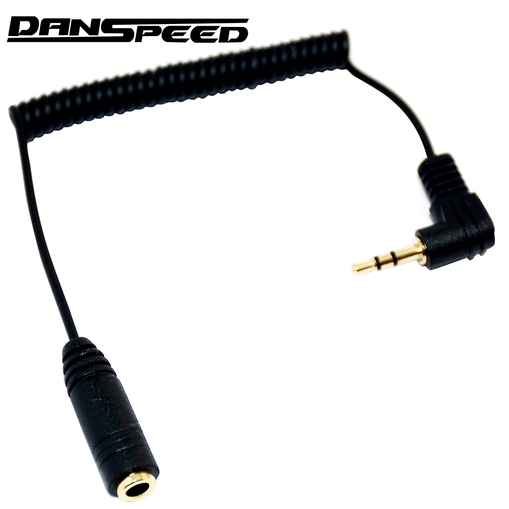 DANSPEED 2.5mm Male to 3.5mm Female Earphone Headphone Audio Jack Adapter Converter Cable For Speaker Stereos reliable 100% brand new and high quality 2 5mm male to 3 5mm female stereo audio headphone jack adapter converter