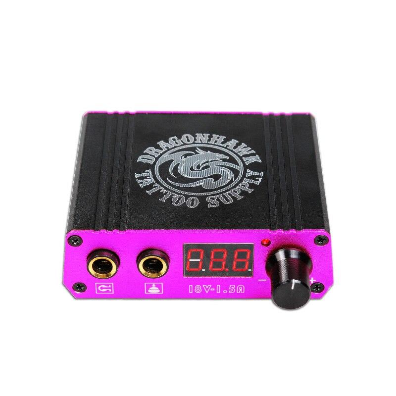 Tattoo Power Supply Digital LCD Mini Tattoo Power Supply Box for Tattoo Machine Professional Tattoo Accesories жидкость tattoo power 30мл 0мг