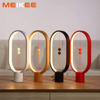 Dropshipping Creative Heng Balance Lamp LED Night Light Smart LED Table Night Lamp USB Charge Home Decoration Bedroom Lights