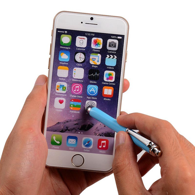quality design eefae 9e0e9 10 Mixed Colors Pack of 10 Tablets Stylus Pen for iPhone Samsung LG HTC  Lenovo Huawei Blackberry etc Smartphones, for iPad etc-in Mobile Phone  Stylus ...