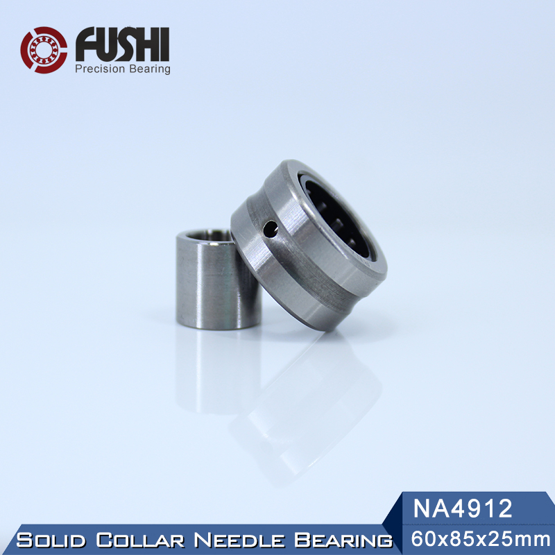 NA4912 Bearing 60*85*25 mm ( 1 PC ) Solid Collar Needle Roller Bearings With Inner Ring 4524912 4544912/A Bearing srb na r c 20 24v used one 85