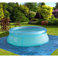 family inflatable pool swimming pool kid adult children blue garden balcony outdoor play pool cover piscine gonflable B33001