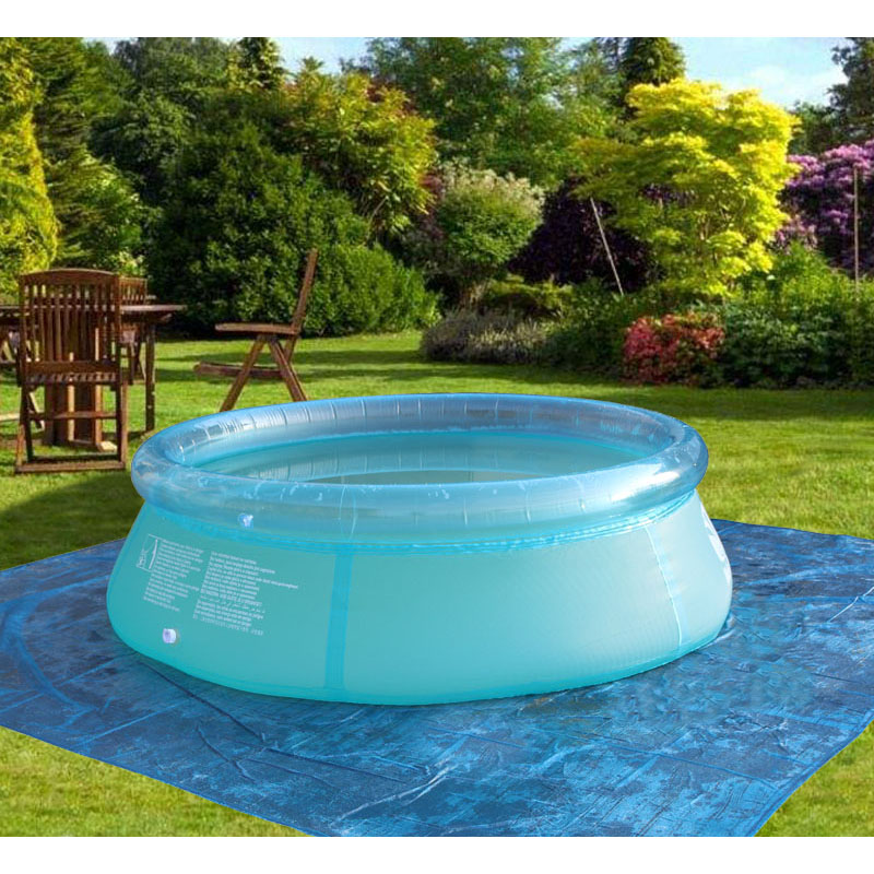 Family inflatable pool swimming pool kid adult children for Family garden pool