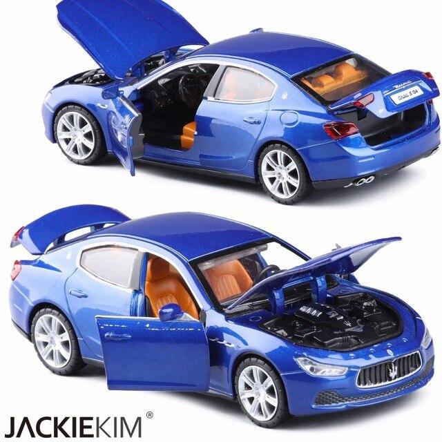 Baru 1:32 Maserati Ghibli Paduan Model Mobil dengan Tarik Uang Diecast Mobil Model Mainan Kendaraan Anak Ulang Tahun Hadiah Mainan Gratis pengiriman