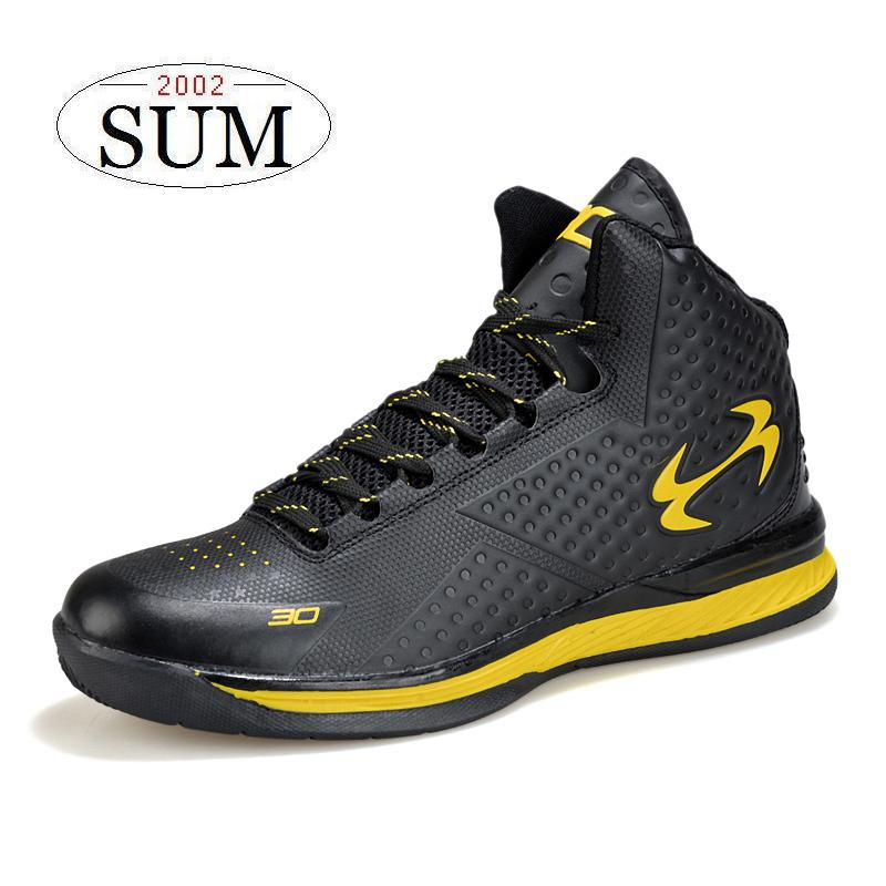 Hot sale! Lace up black lifestyle basketball boots men ...
