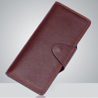 Supreme Fire Wallet Brown Leather Long Magic Trick Accessories Gimmick Wallet Magic Card Magic Mentalism