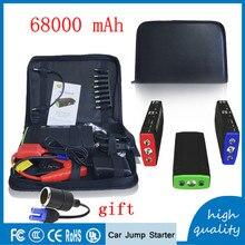 2017  68000mAh Portable Mini Multifunction AUTO Emergency Start Charger Car Jump Starter 12V Power Bank  BoosterHigh Capacity