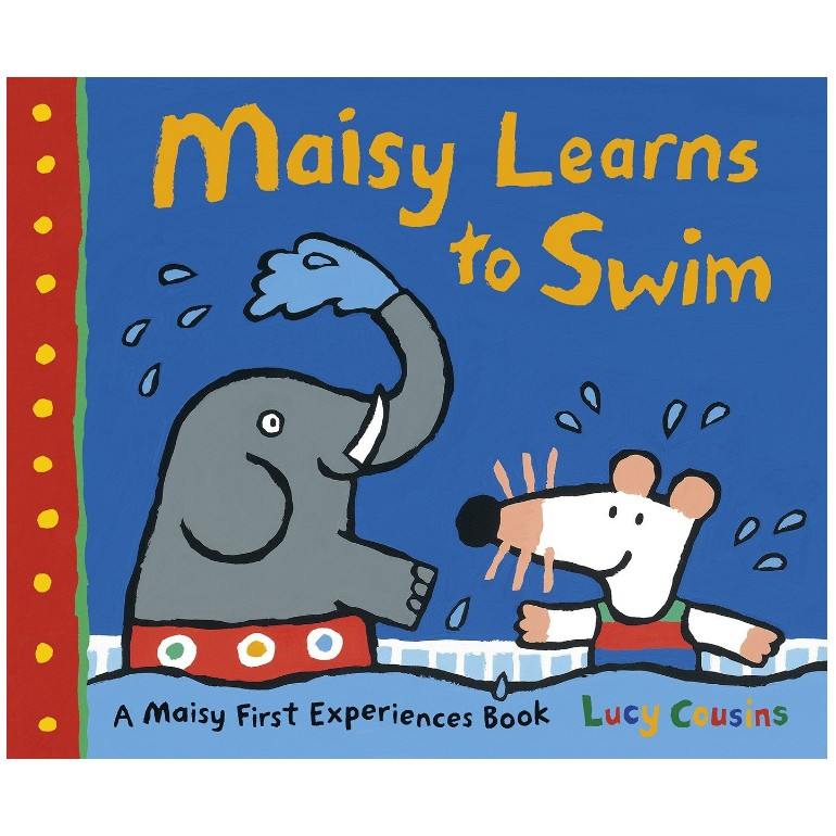 Maisy Learns To Swim A First Experience English Story Picture Book Children Learning English Educational Toys For Children