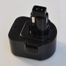 12 В в Ni-MH аккумуляторная батарея 3000 мАч для Black Decker Беспроводная электрическая дрель шуруповерт CD12CAH CD12CB CD12CBK CD12CE CD431