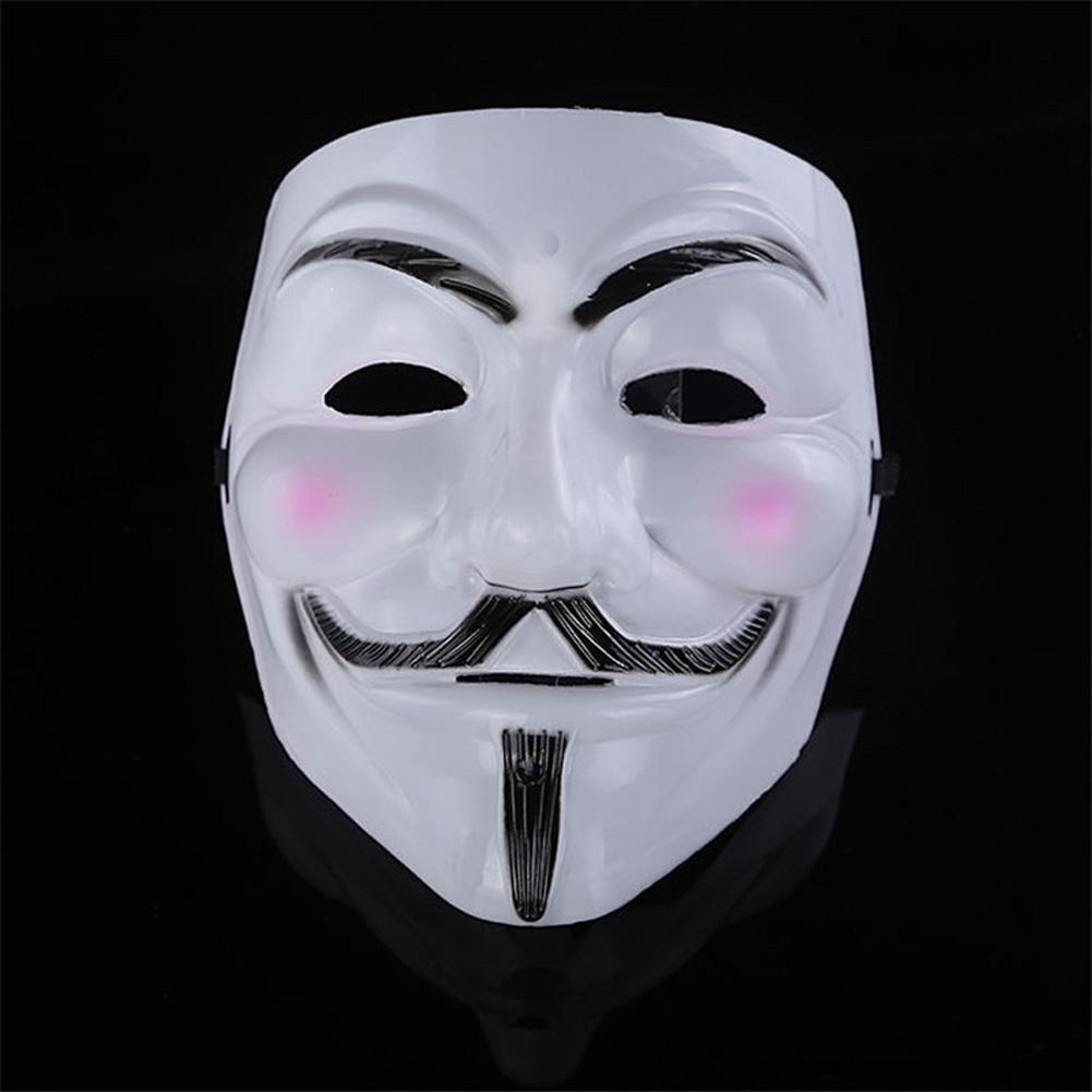 5pcs Cosplay Mask V For Vendetta Anonymous Movie Guy Fawkes ...