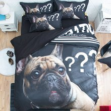 Bedding Duvet Cover French Bulldog Cute Puppy Bedding Set Relaxed Soft Feel with Zipper Closure Pillow Shams Luxury Soft Hotel