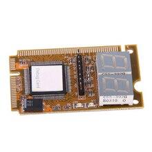 ГОД ВЫПУСКА-Ноутбук Диагностические Карты 2-значный Mini PCI/PCI-E LPC POST Анализатор Тестер