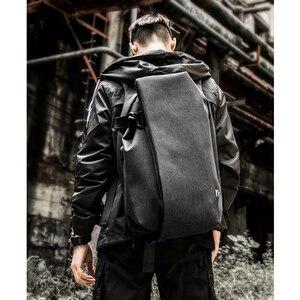 Image 5 - Mens Boys Backpack Shoulder Bag USB Charging Laptop Bag Notebook Fashion Outdoor Travel Oxford Sport Waterproof 14 inch