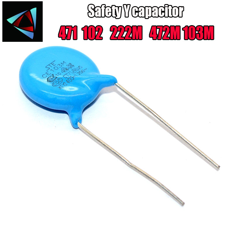 10PCS 400VAC 103M 10nF Safety Y Capacitor