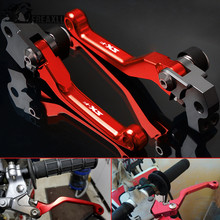 CNC Aluminum Brake Clutch Levers Dirt Bike Pit Pivot For KTM 450SX-F 450 SX F 450SX-R SX R 2005-2008 2009-2012 2013 2014-2018 стоимость