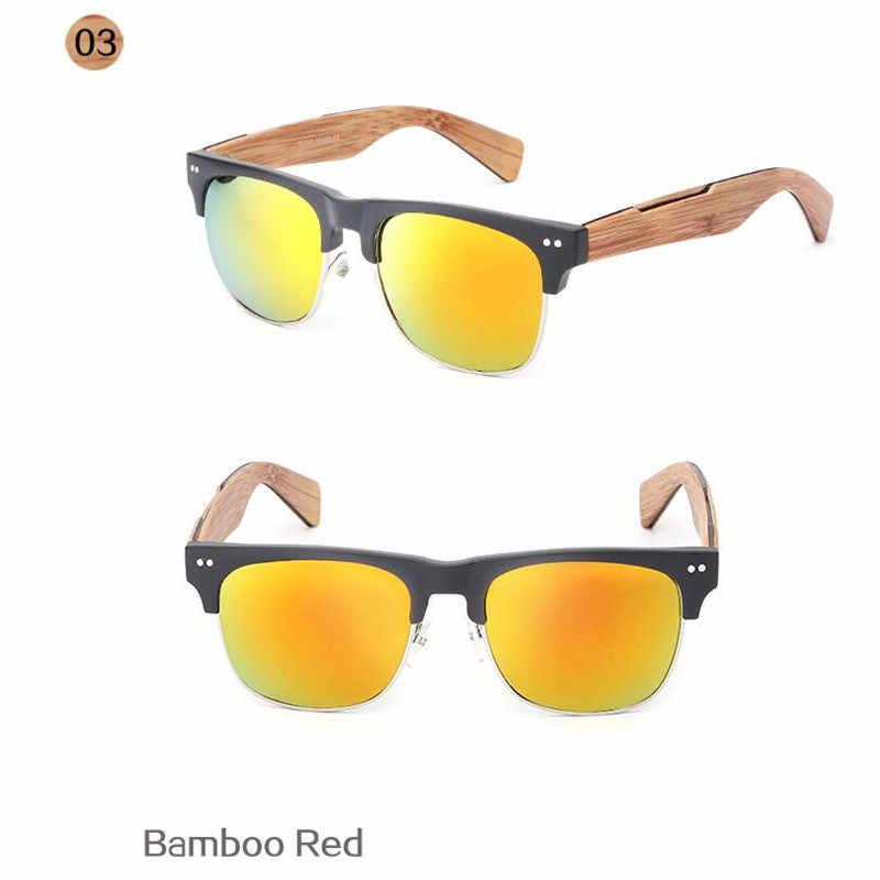 a2a052c6d75 ... 2017 Retro Imitate Bamboo Wood Sunglasses Men Women Brand Designer  Goggles Gold Mirror Sun Glasses Shades ...