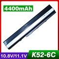 4400mAh laptop battery for ASUS A40JA A40JE A40JP A40Jc A40Jr A40Jv A42 A42D A42DE A42DQ A42E A42F A42J A42JA A42JC A42JE A42JK