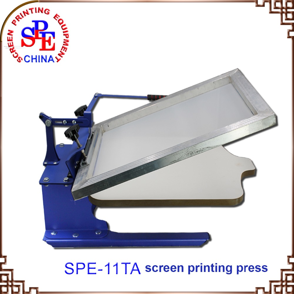 screen printing machine silk screen press one color screen press цена 2017