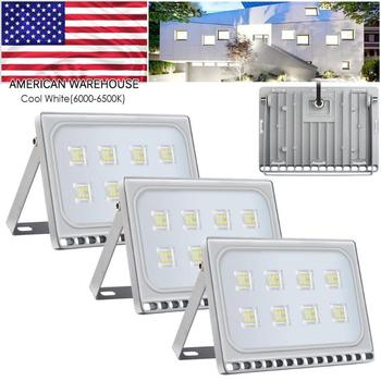 4pcs 50W Outdoor Garden Decoration Stair Pathway Floodlight Security Lights