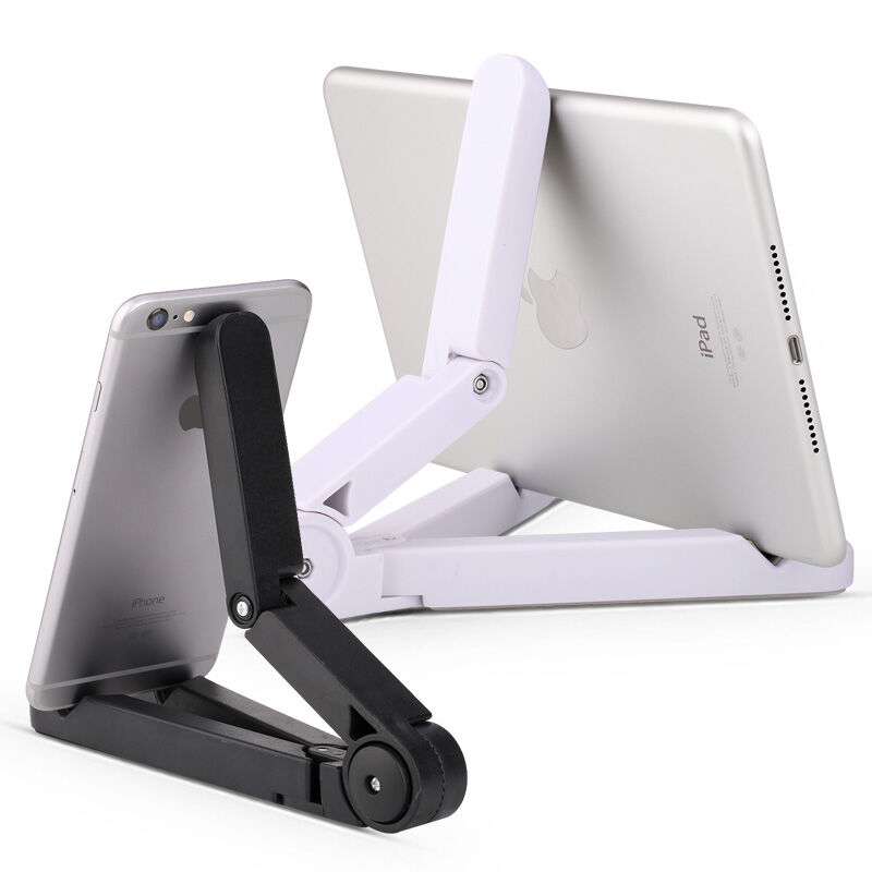 Universal White Mobile Phone Stand Flexible Desk Phone Holder For