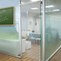 Aluminum Door Window Curtain Metal Screens Room Dividers Hanging Chains Blinds Fly Insect Pest Control 22 001