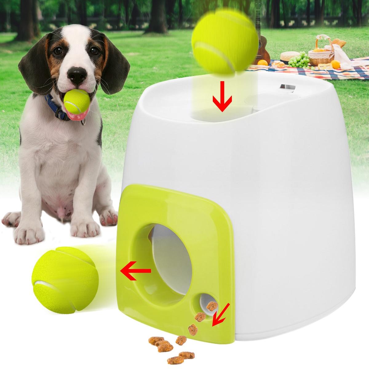 Woopet Pet Chien Jouet Automatique Balle Interactive Lanceur De Tennis Balle Roule sur Machine Lancement Corvée Balles Outil De Formation De Chien