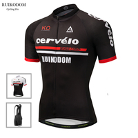 RUIKODOM 2018 Summer Team Cycling Jersey Bib Shorts Quick Dry Mountain Bicycle Clothing Ropa Ciclismo MTB
