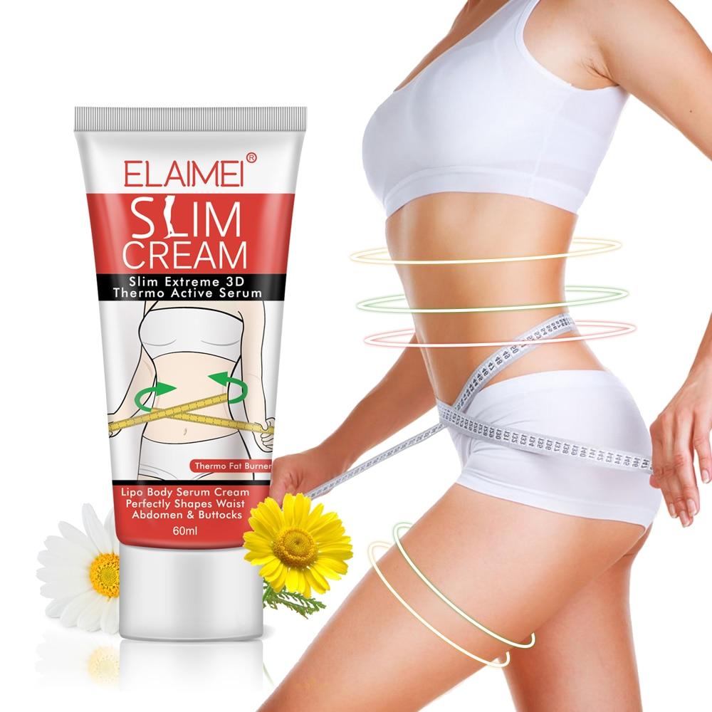 Body Slimming Cream Fast Fat Burning Weight Loss Cream Thermo Active Cream Thin Navel Arm Leg Slim Beer Belly Diet Cream 60g