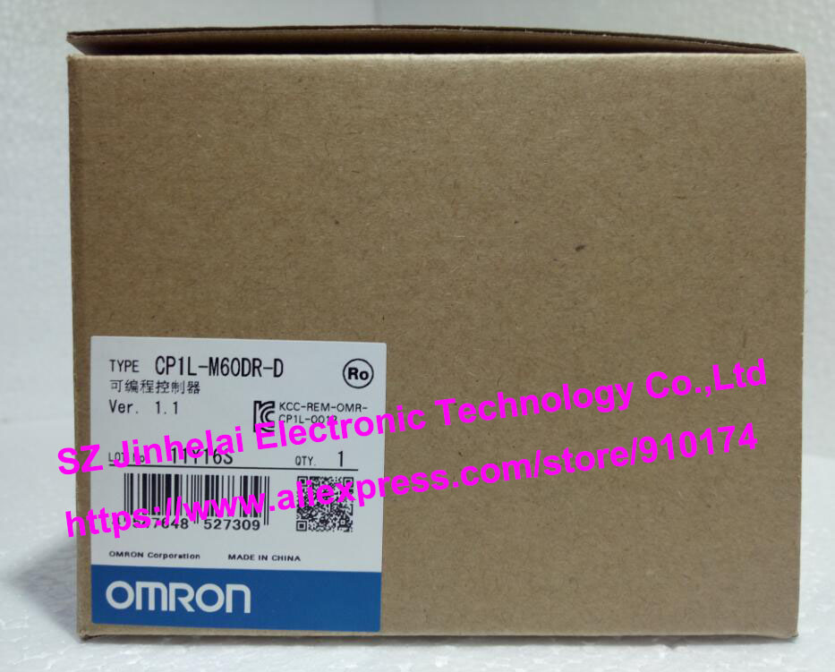 100% New and original  CP1L-M60DR-D  OMRON PLC CONTROLLER [zob] 100% new original omron omron proximity switch e2e x10d1 n 2m
